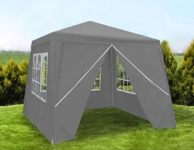 Садовый павильон шатер 3х3 м 4 стены палатка садовая тент Польша
