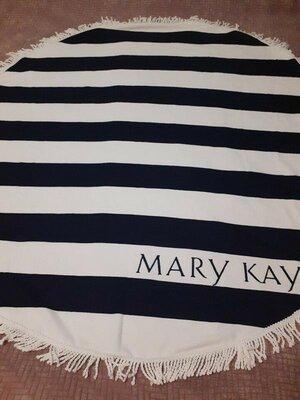 Модное пляжное полотенце, покрывало mary kay мери кей