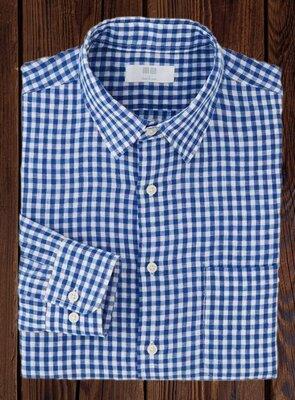 Рубашка UNIQLO® оригинал 100% лён XL