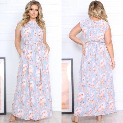 Женское летнее длинное классическое платье макси женские летние длинные платья классические в пол