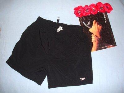 Шорты мужские плавательные спортивные на пляж пляжные для купания размер 44 S черные шортики черные