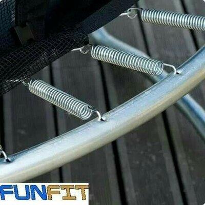 Безкоштовна доставка Батут Fun Fit з сіткою і драбиною
