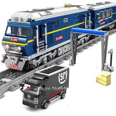Продано: Конструктор Kazi 98220 Скоростной поезд 1192 деталей