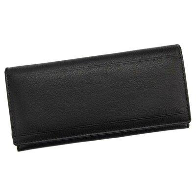 Женский кожаный кошелек Pierre Andreus N1022 PAK черный