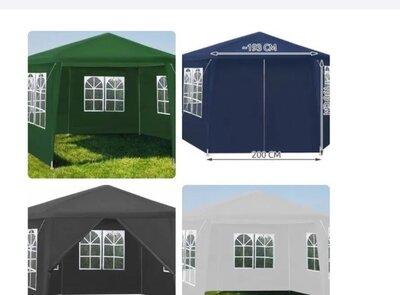 Павильон садовый 12м2 шестиугольный 6 Стен Палатка Шатер Бесетка нові