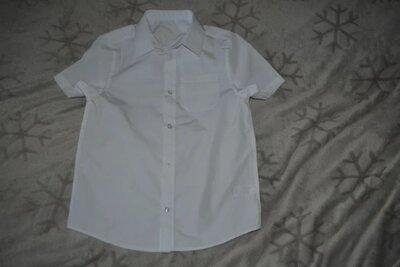 Новая рубашка F&F на 9-10 лет рост 134-140 Англия