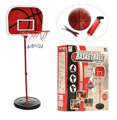 Баскетбольное кольцо M 2995 на стойке 105-139 см
