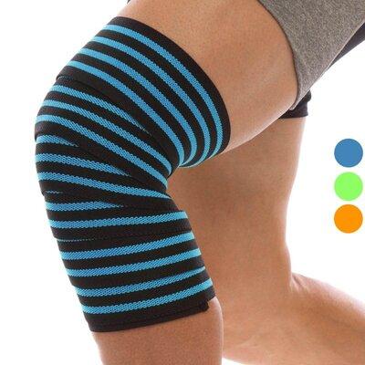 Бинты на колени для приседаний Mute 9098 длина 2м 3 цвета