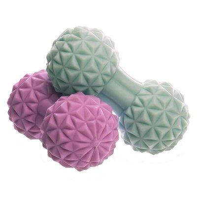 Продано: Массажер для спины DuoBall Massage Ball 1477 размер 12,5x6,5см 2 цвета