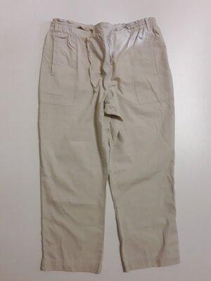 Фирменные хлопковые брюки штаны L