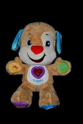 Умный щенок собачка 12 Fisher Price интерактивный игрушки для малышей