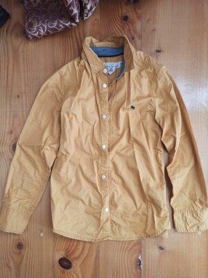 Рубашка песочного цвета, размр 134/140 см h and m