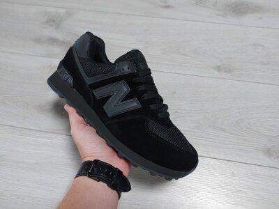 Мужские кроссовки New Balance 574 черные