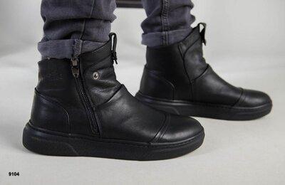 Мужские демисезонные ботинки челси лоферы замшевые удобные стильные новинка хит сезона