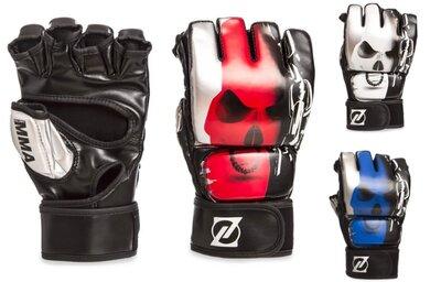 Перчатки для смешанных единоборств MMA Zelart 1319 размер S-XL 3 цвета