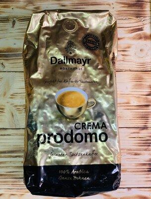 Кофе Dallmayr Prodomo Crema в зернах 1 кг