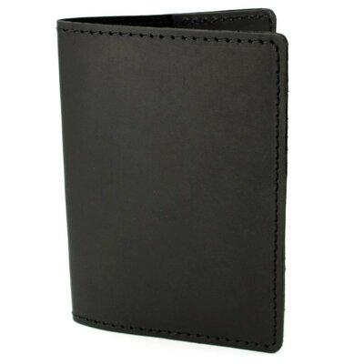 Обложка на паспорт кожаная HandyCover HC0073 черная