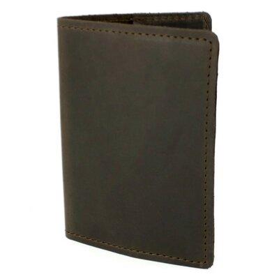 Обложка на паспорт кожаная HandyCover HC0073 коричневая