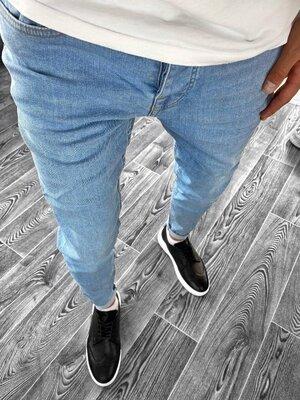 2020. Варианты. Европейское качество. Мужские джинсы рваные зауженные Турция 2Y Premium 5284