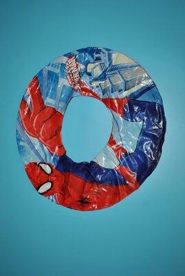 Надувной круг для плавания для мальчика человек паук