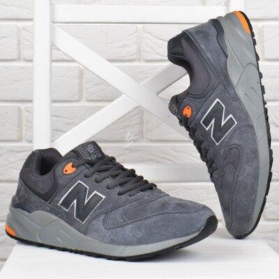46,47,48 размеры кроссовки мужские New Balance 999 замшевые size серые антрацит