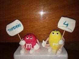 М&d's, фігурки на торт, фигурки, прикраси