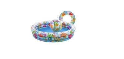 Детский бассейн 3 в1 INTEX 59469 132 см Х 28 см