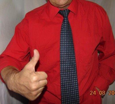 Катоновая стильная фирменная нарядная деловая рубашка сорочка Carnet.2хл .