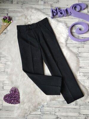 Школьные брюки Rado на мальчика черные в полоску