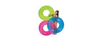 Надувной круг Прозрачный Intex 59260