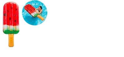Надувной пляжный матрас мороженное эскимо арбуз Intex 58751