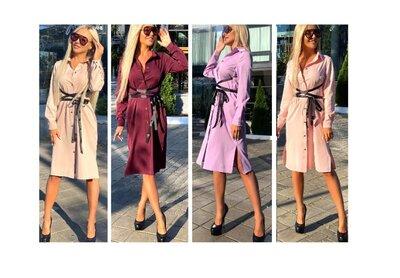 Платье Марго - 4 цвета - поясочек