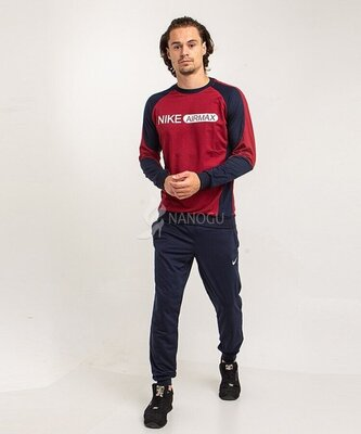 Спортивный костюм мужской Nike Air Max темно синий бордо