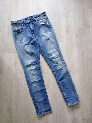 Мужские джинсы скини рваные от H&M