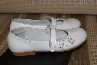 Туфли натуральная кожа девочке 32 размер, 20 см от Bonino, Италия