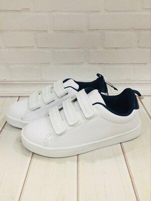 Нові білі кеди кросівки снікерси туфлі макасіни нм хм h&m