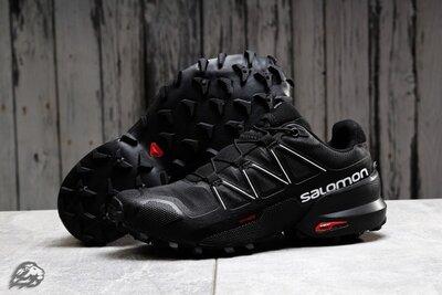 Кроссовки мужские Salomon SpeedCross 5, черные