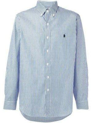 Натуральная рубашка в полоску Polo Ralph Lauren