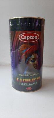 Продано: Кофе Capton натуральный молотый ETHIOPIA 300г