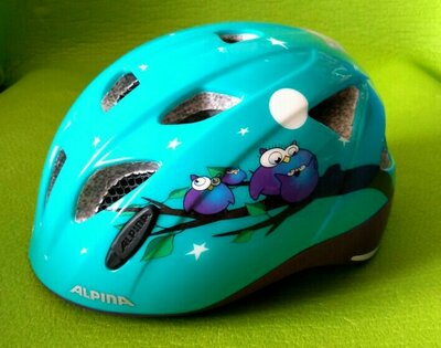Шлем детский со световым маяком