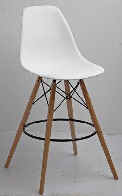 Стулья барные Барный стул тауэр вуд барный пластиковый высокий