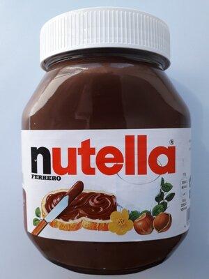 Продано: Nutella Нутелла шоколадная, ореховая паста, 750г, Германия