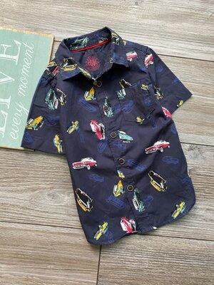 Рубашка с машинками F&F 2-3г