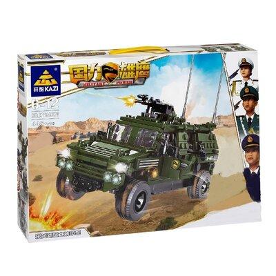 Конструктор Kazi 84070 Военный Хаммер 446 деталей
