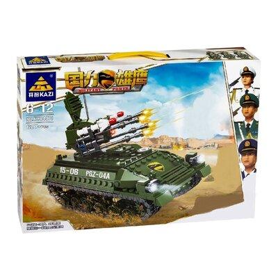 Конструктор Kazi 84071 Военный Танк PGZ-04A 627 деталей