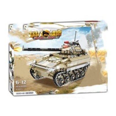 Конструктор Kazi 84080 Военный Танк ZBO-03 533 деталей