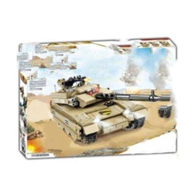 Продано: Конструктор Kazi 84081 Военный Танк TZT-99 671 деталей