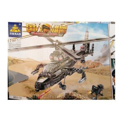 Конструктор Kazi 84091 Вооруженный вертолет WZ-19E 393 детали
