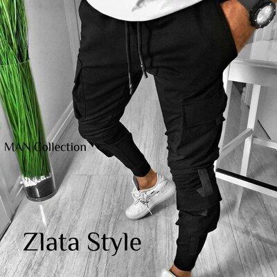 Мужские стильные штаны 7128 расцветки Турция