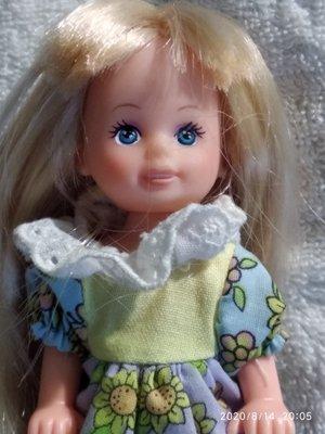 отличная маленькая куколка Simba Германия оригинал клеймо 12 см